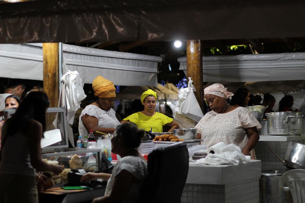 Acarajé da Cira, Ponto Rio Vermelho foto: Brenda Santos/PETCOM