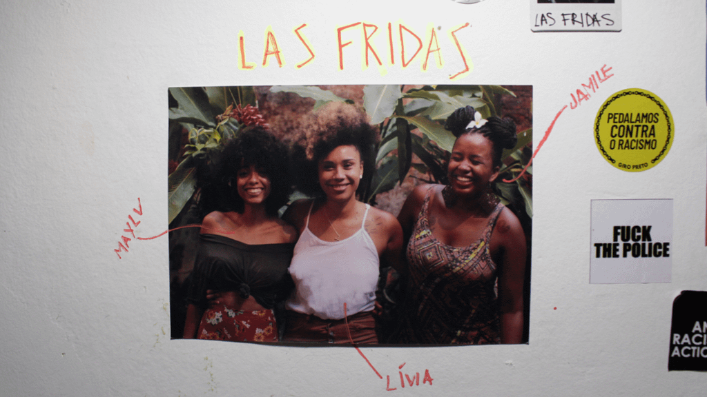 Mayly e Jamile, co-criadoras da iniciativa La Frida foto: Emilly Tifanny
